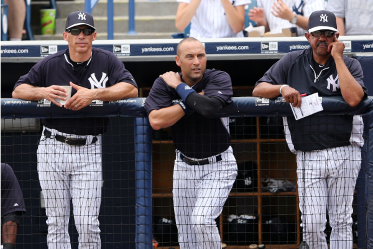 Derek Jeter has long had a reputation as a coach of the field. (Leon Halip/Getty Images)
