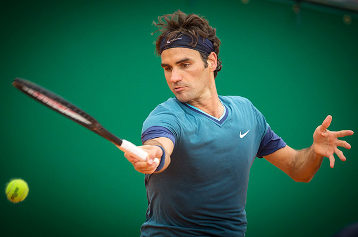 Roger Federer hasn't played since the Monte Carlo Masters. (Didier Baverel/Getty Images)