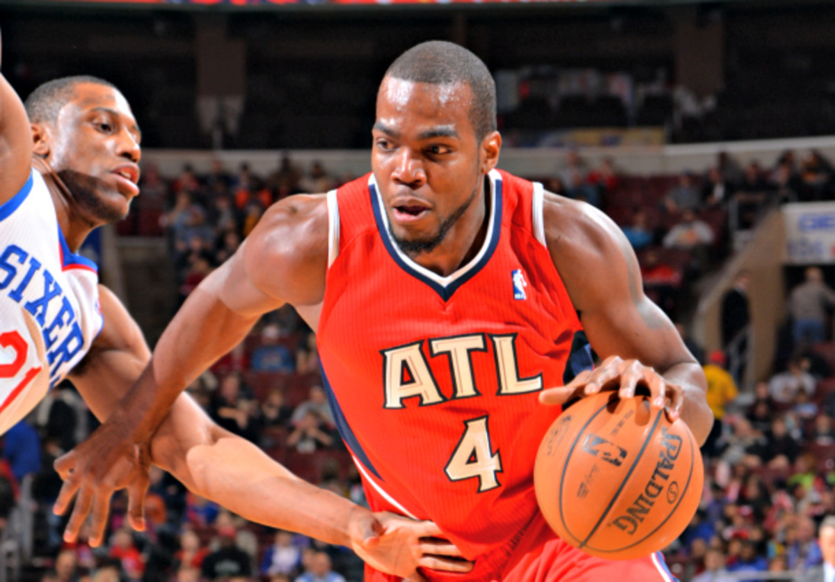 Paul Millsap and the Hawks might be best served by missing the playoffs. (Jesse D. Garrabrant/NBAE via Getty Images)