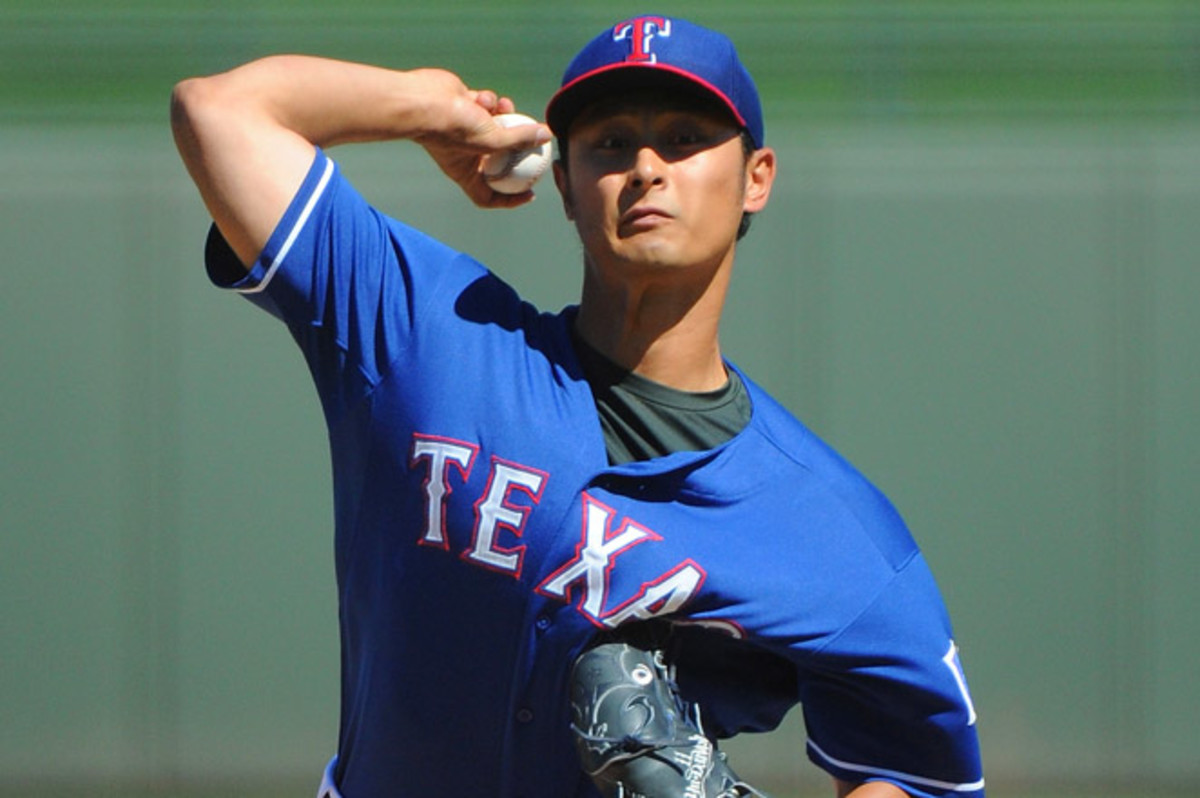 Darvish had been on the DL with neck stiffness, and made his final spring training start on March 16.