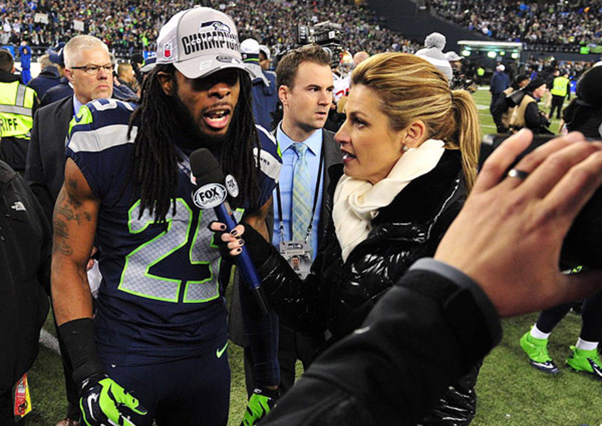 Richard Sherman's interview with Erin Andrew following the NFC title game stole headlines early this week.