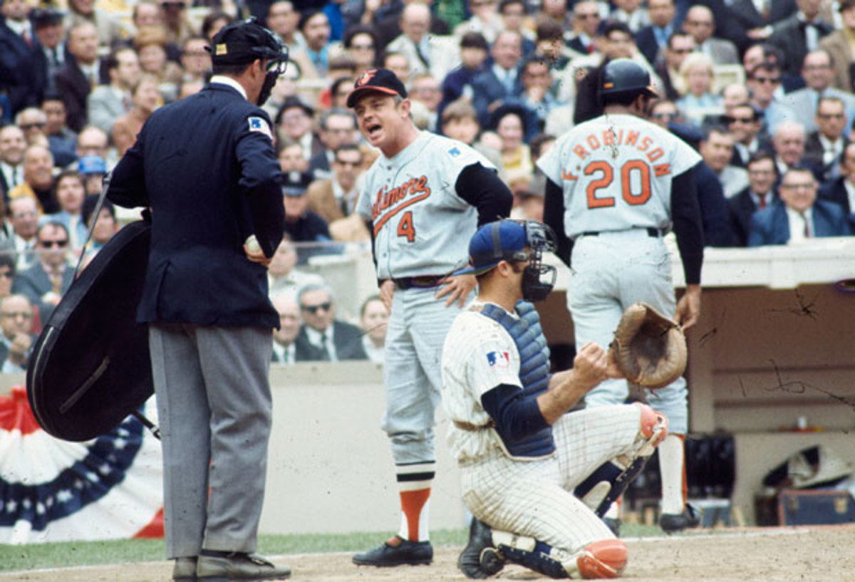Earl Weaver :: Getty Images