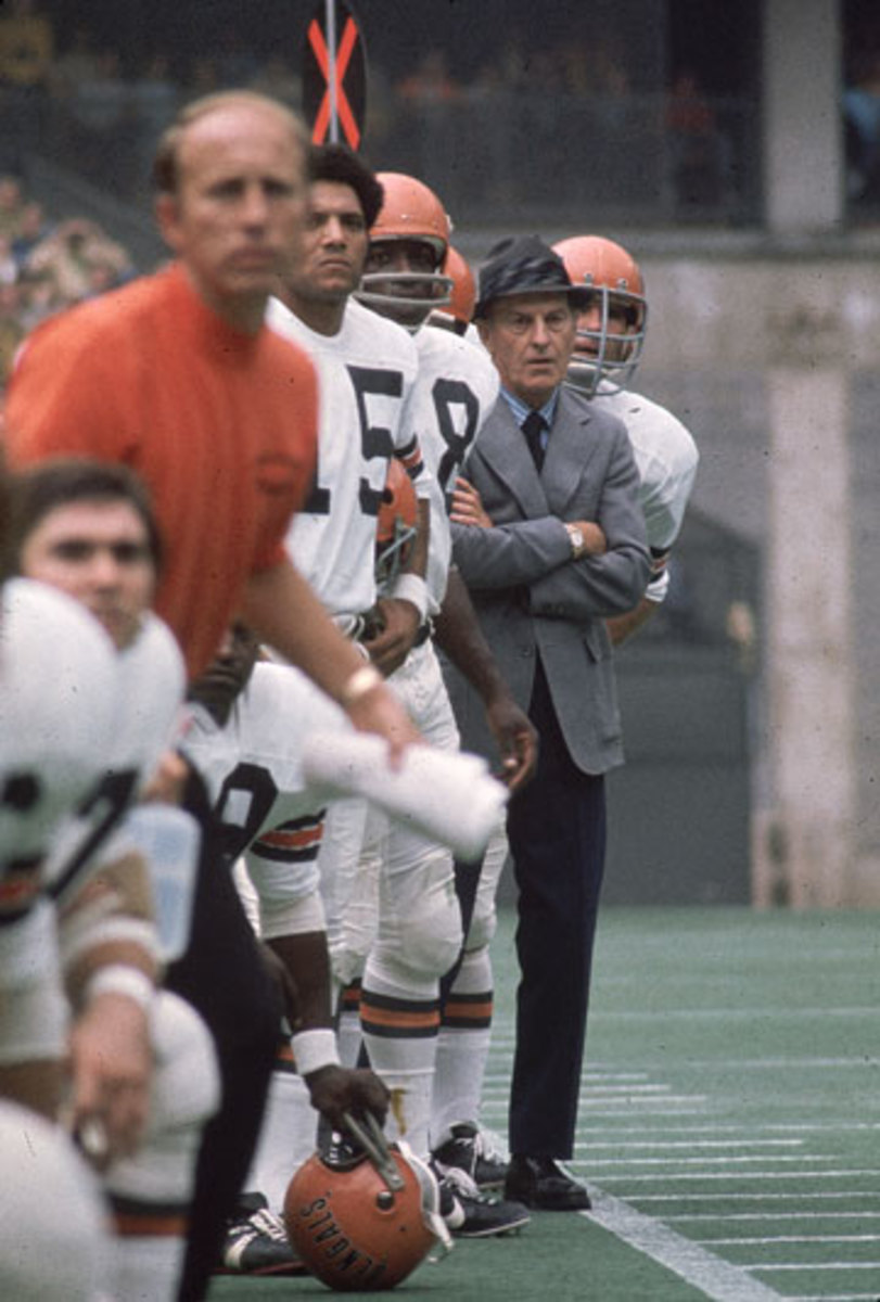 Brown founded the Bengals and coached them  for eight seasons; his son still runs the team. (James Drake/SI)