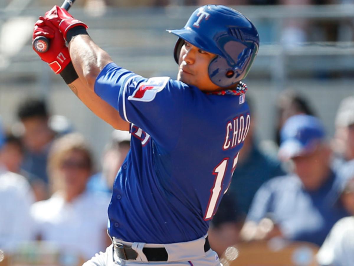 Shin-Soo Choo will bring his career on-base percentage of .389 to Texas. (Paul Sancya/AP)