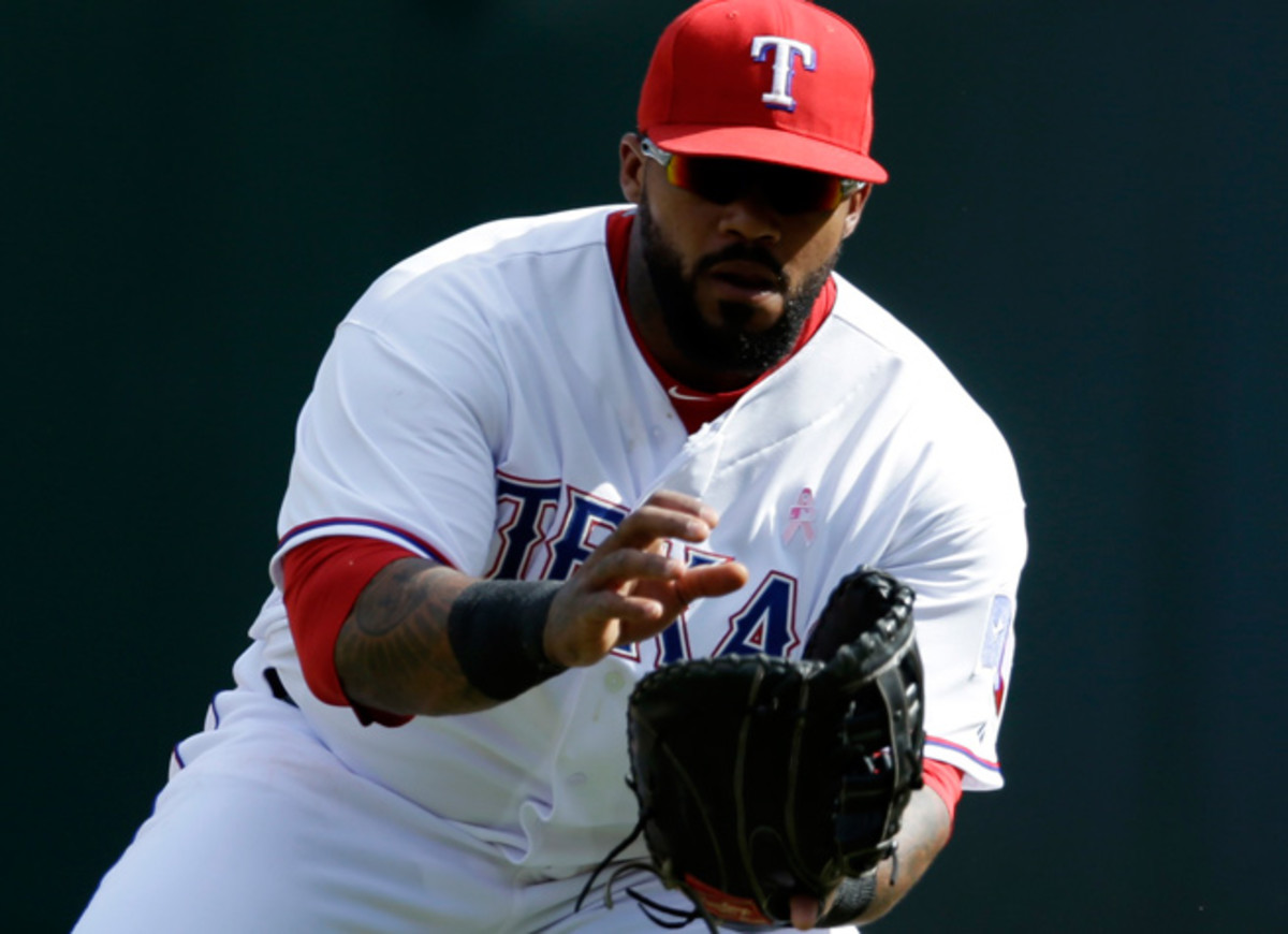 Prince Fielder has been sidelined since last Saturday due to a herniated disc in his neck.