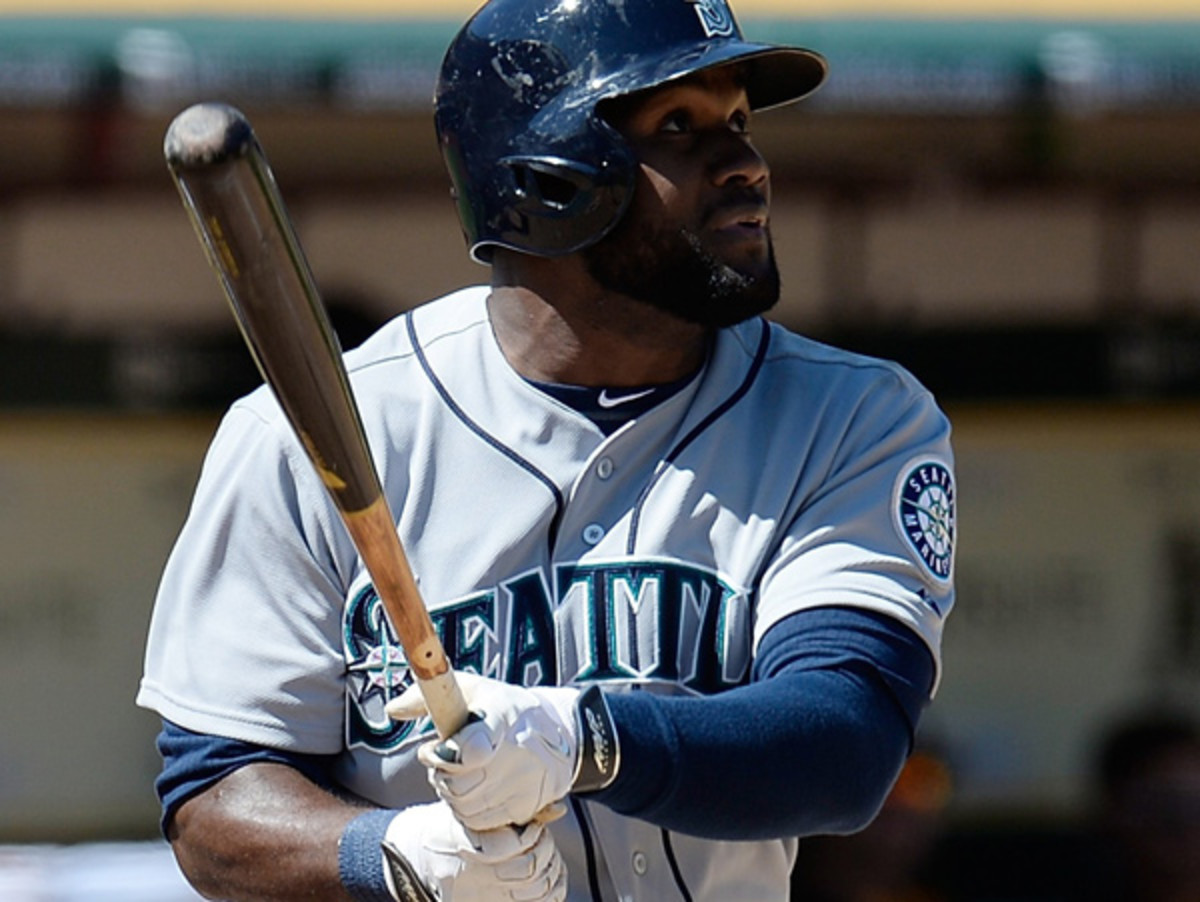 Abraham Almonte is headed to Triple-A after a tough start to 2014. (Thearon W. Henderson/Getty Images)
