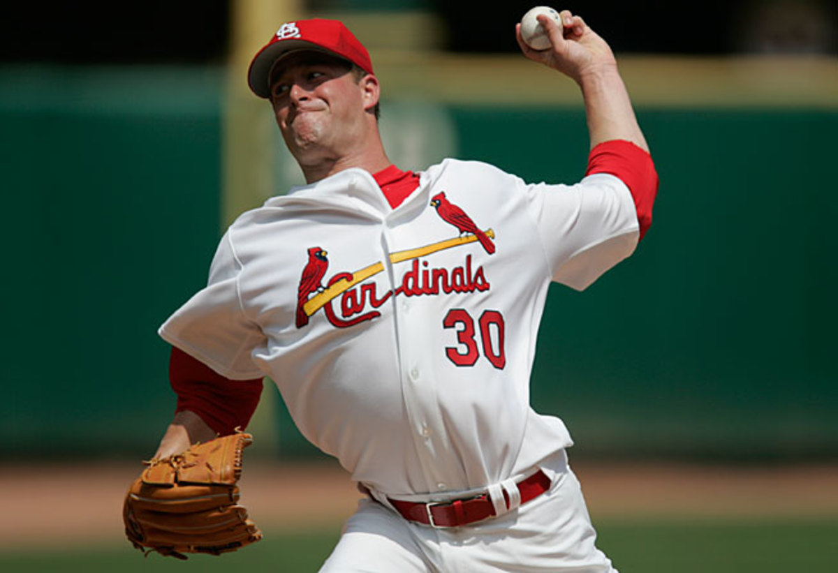 Mark Mulder hasn't pitched in the majors since 2008, when he appeared in just three games for the Cardinals.