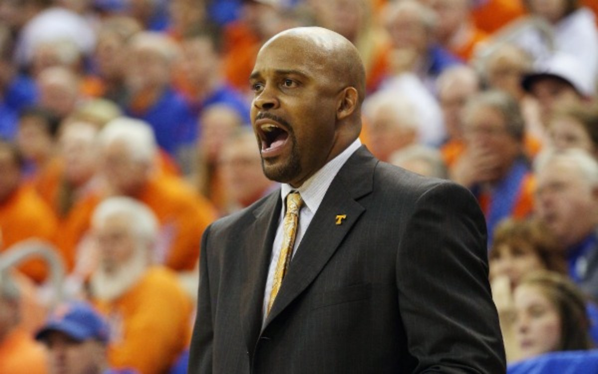 Tennessee head coach Cuonzo Martin has a 56-39 record in two-plus seasons at the school. (Scott Iskowitz/Getty Images)