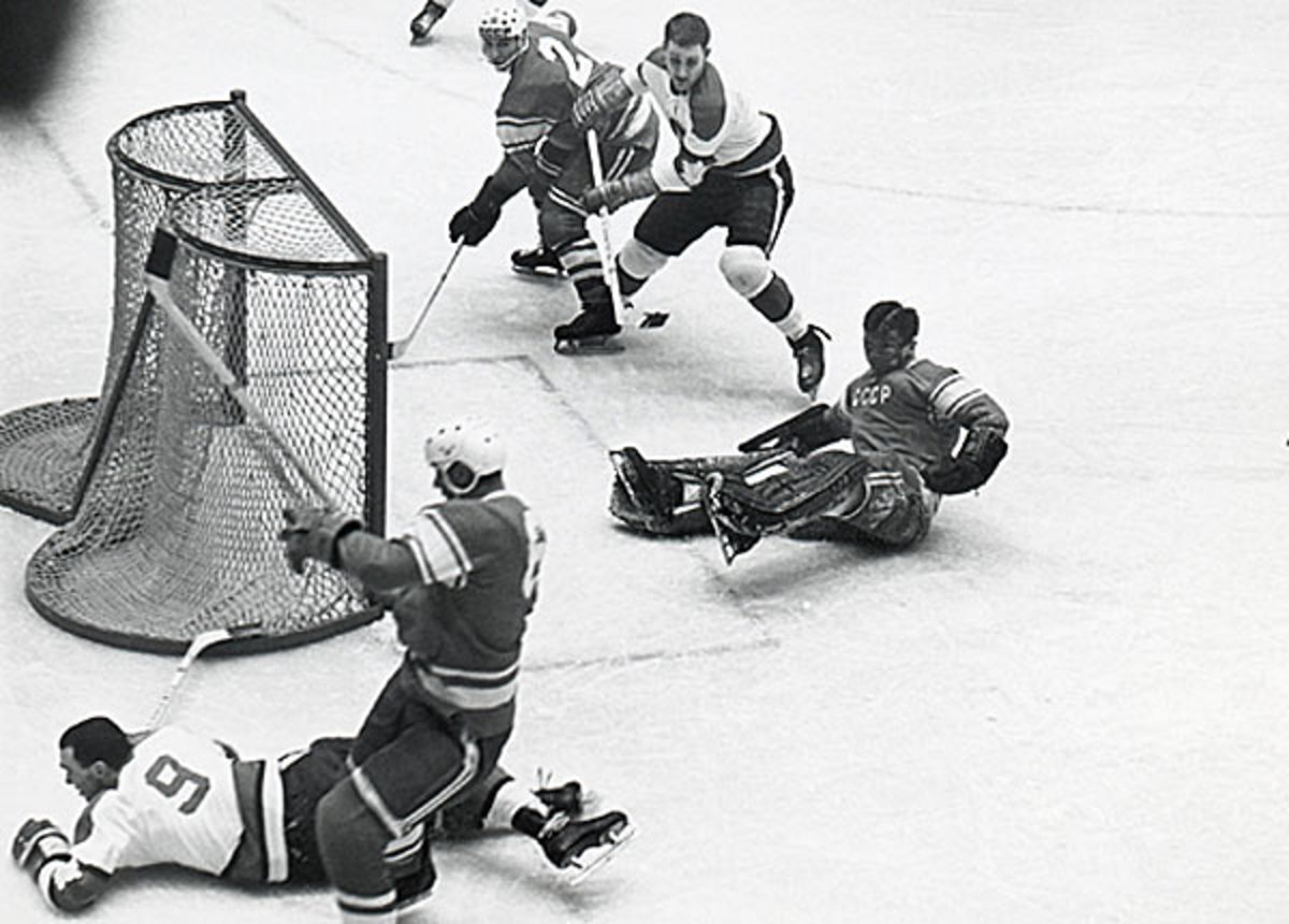 The Soviet hockey team was challenged by Canada, but proved it was now the world's best.
