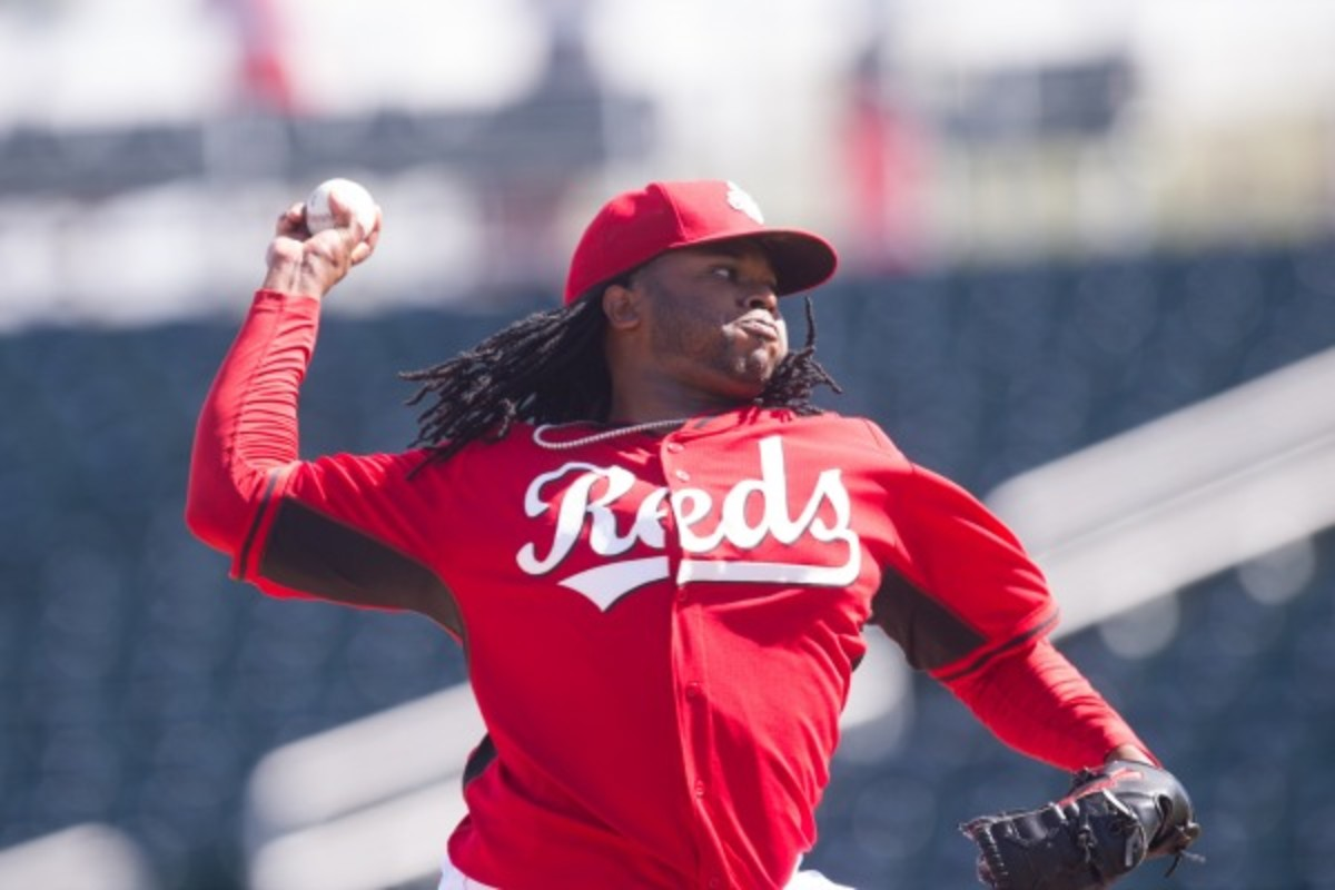 Johnny Cueto (Rob Tringali/Getty Images)
