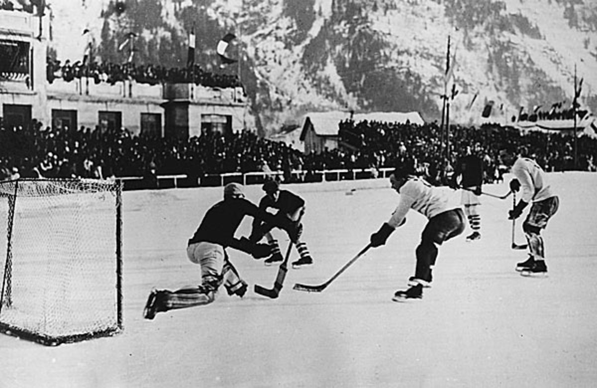 The U.S. and Canada meet for the first time Olympic competition.