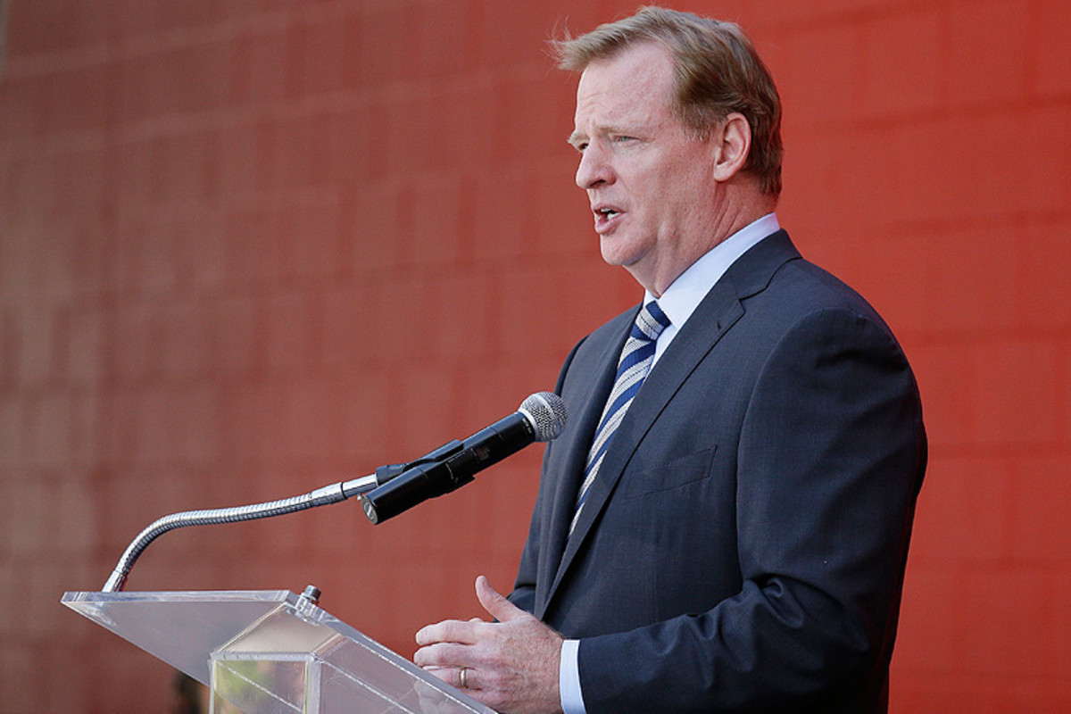 NFL commissioner Roger Goodell continues to face public criticism for the relatively light punishment he handed down to Ravens running back Ray Rice after a domestic violence incident. (Eric Risberg/AP)