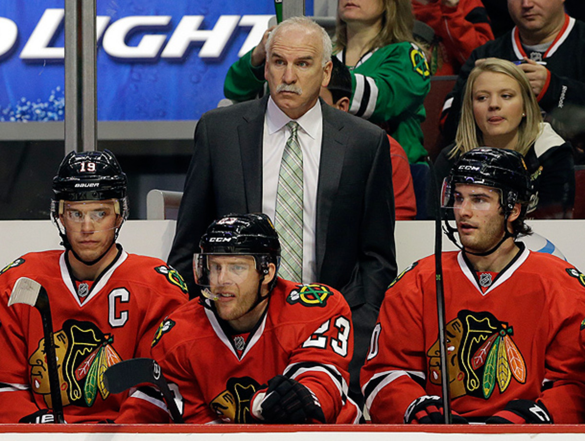 Joel Quenneville has helped lead the Blackhawks into the NHL's elite over the past few years. (Nam Y. Huh/AP)