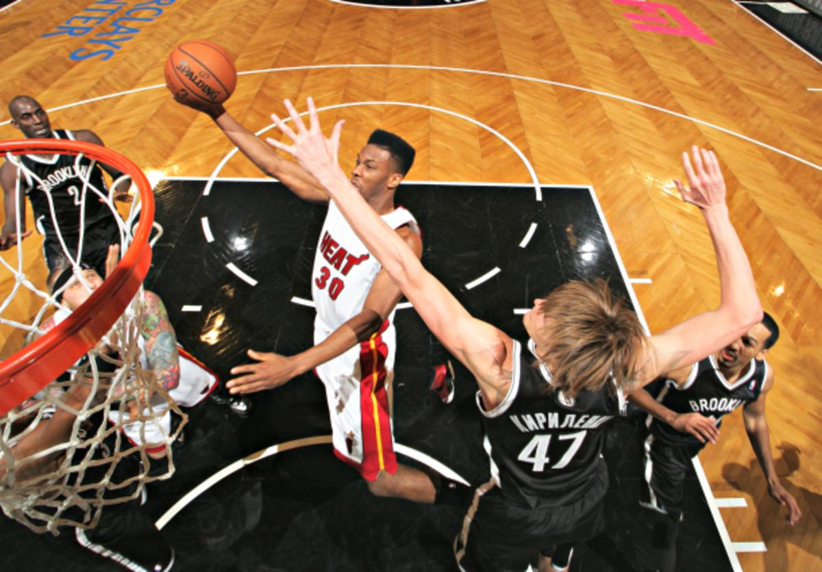 Andrei Kirilenko is one of the sneakiest help defenders in the NBA. (Nathaniel S. Butler/NBAE via Getty Images)