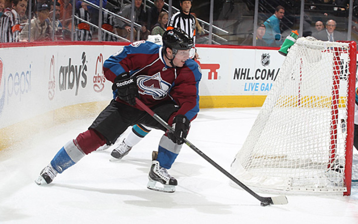 Matt Duchene of the Colorado Avalanche