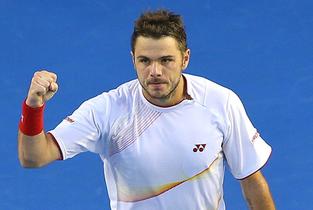 Stanislas Wawrinka ended Novak Djokovic's 28-match winning streak. (Quinn Rooney/Getty Images)