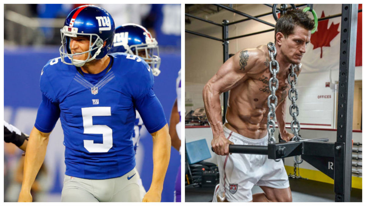 Behind the Body: Giants' Steve Weatherford - Sports Illustrated