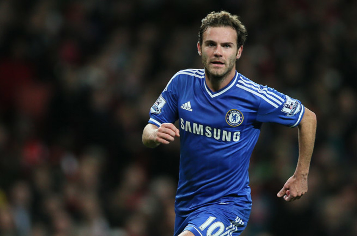 Chelsea's Juan Mata is set to become the most expensive transfer buy in Manchester United's history.