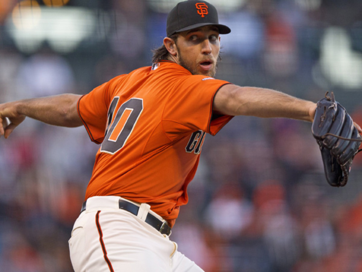 Madison Bumgarner will try to lead the Giants back into NL West contention. (Jason O. Watson/Getty Images)