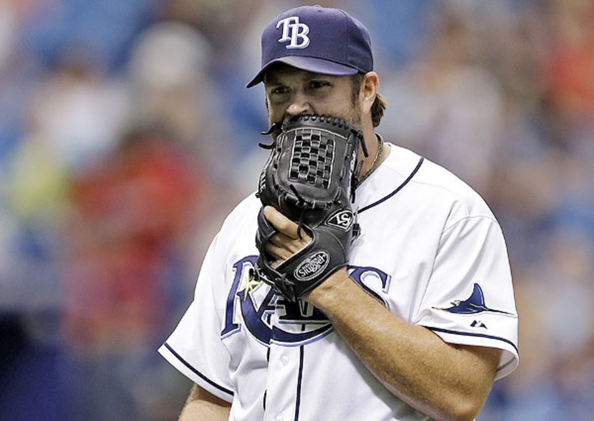Tampa Bay Rays designate Heath Bell for assignment, recall Nate Karns