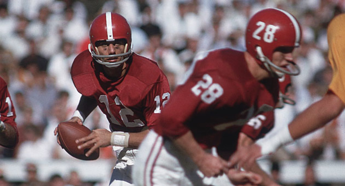 Namath found both success and controversy during his memorable career at Alabama.