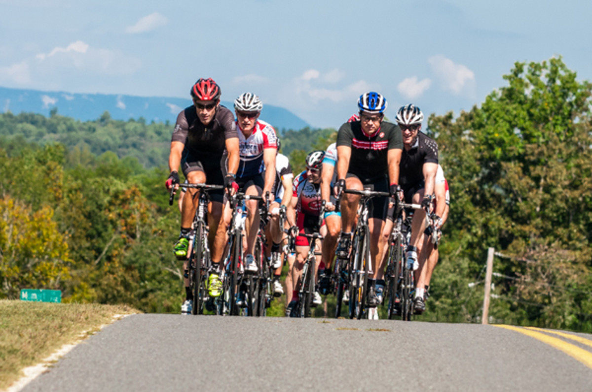 """One of the biggest perks of Hotel Domestique is the ability to ride with Hincapie on his old training grounds at the base of the foothills of the Blue Ridge Mountains, and as he puts it, """"people can come in and live like a pro cyclist for a few days."""""""