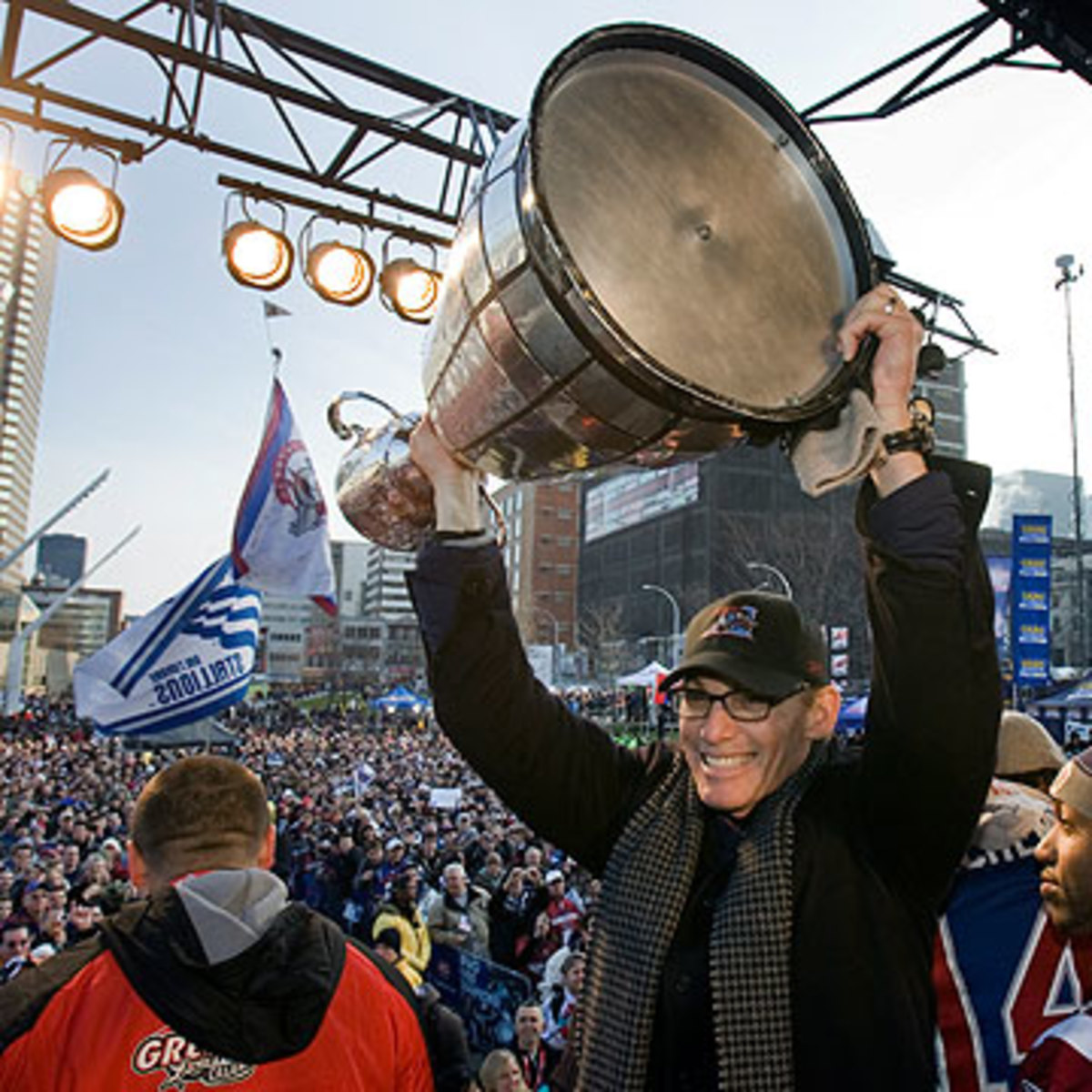 Trestman won two Grey Cup titles, including a dramatic, last-second victory in 2009. (Ryan Remiorz/The Canadian Press/AP)