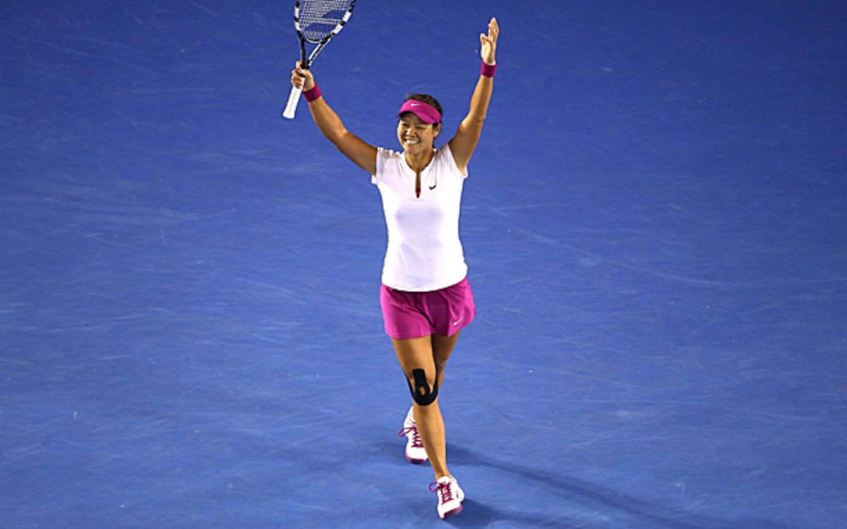 Li Na is finally the champion in Melbourne Park. (Quinn Rooney/Getty Images)