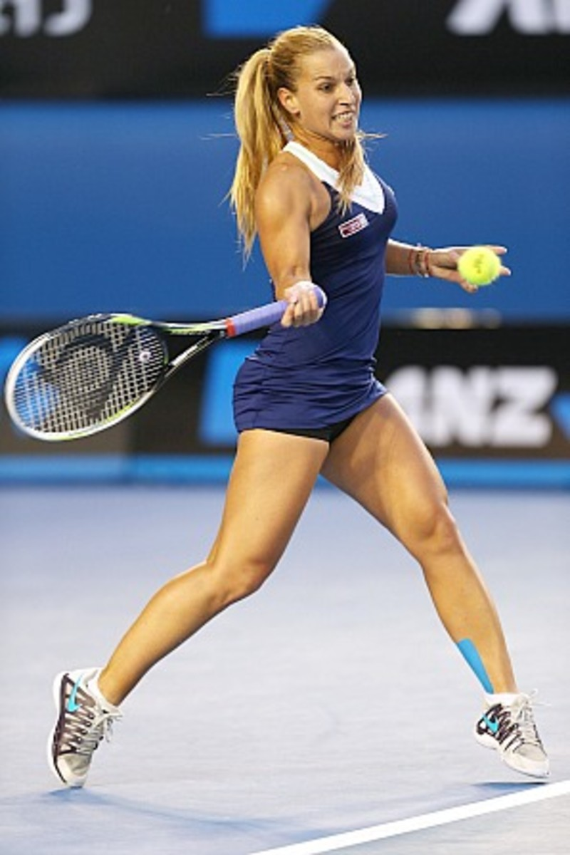 Dominika Cibulkova is Slovakia's first Grand Slam finalist. (Clive Brunskill)