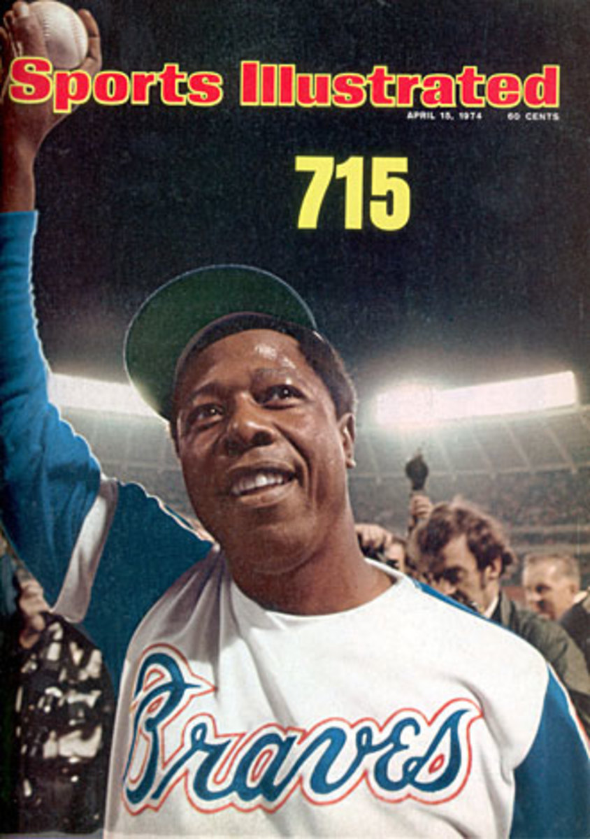 Hank Aaron 715 cover