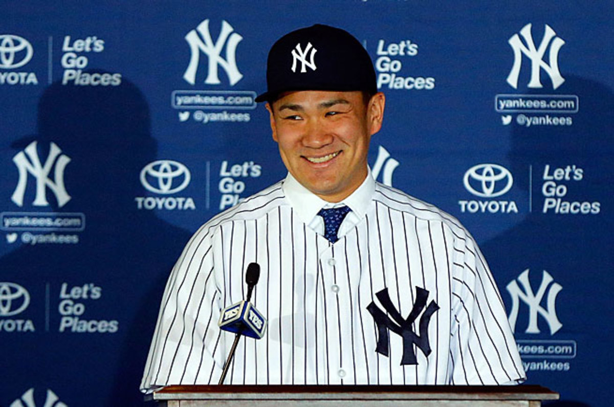 Masahiro Tanaka signed a seven-year, $155 million contract with New York last month.