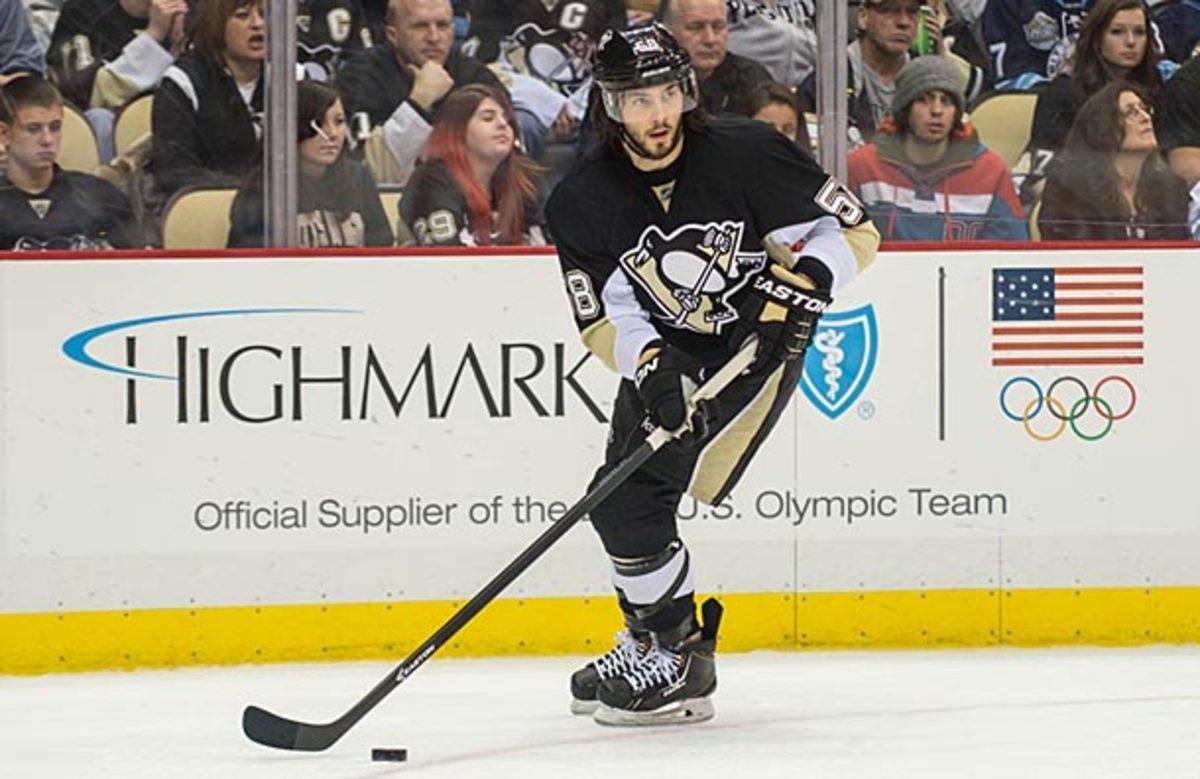 Kris Letang of the Pittsburgh Penguins
