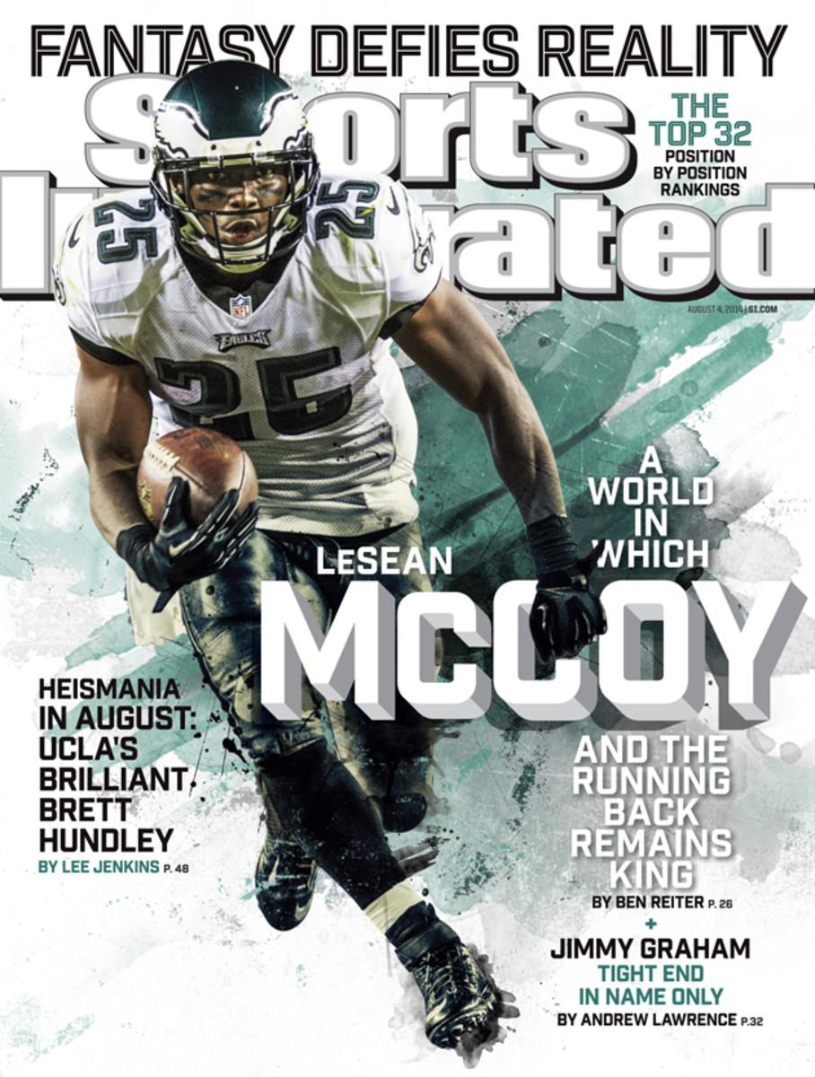 Philadelphia LeSean Eagles on McCoy  Sports running back
