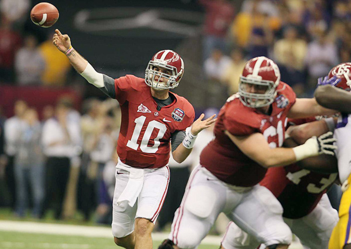 2014 NFL draft: Alabama quarterback A.J. McCarron told he could be taken in the first round