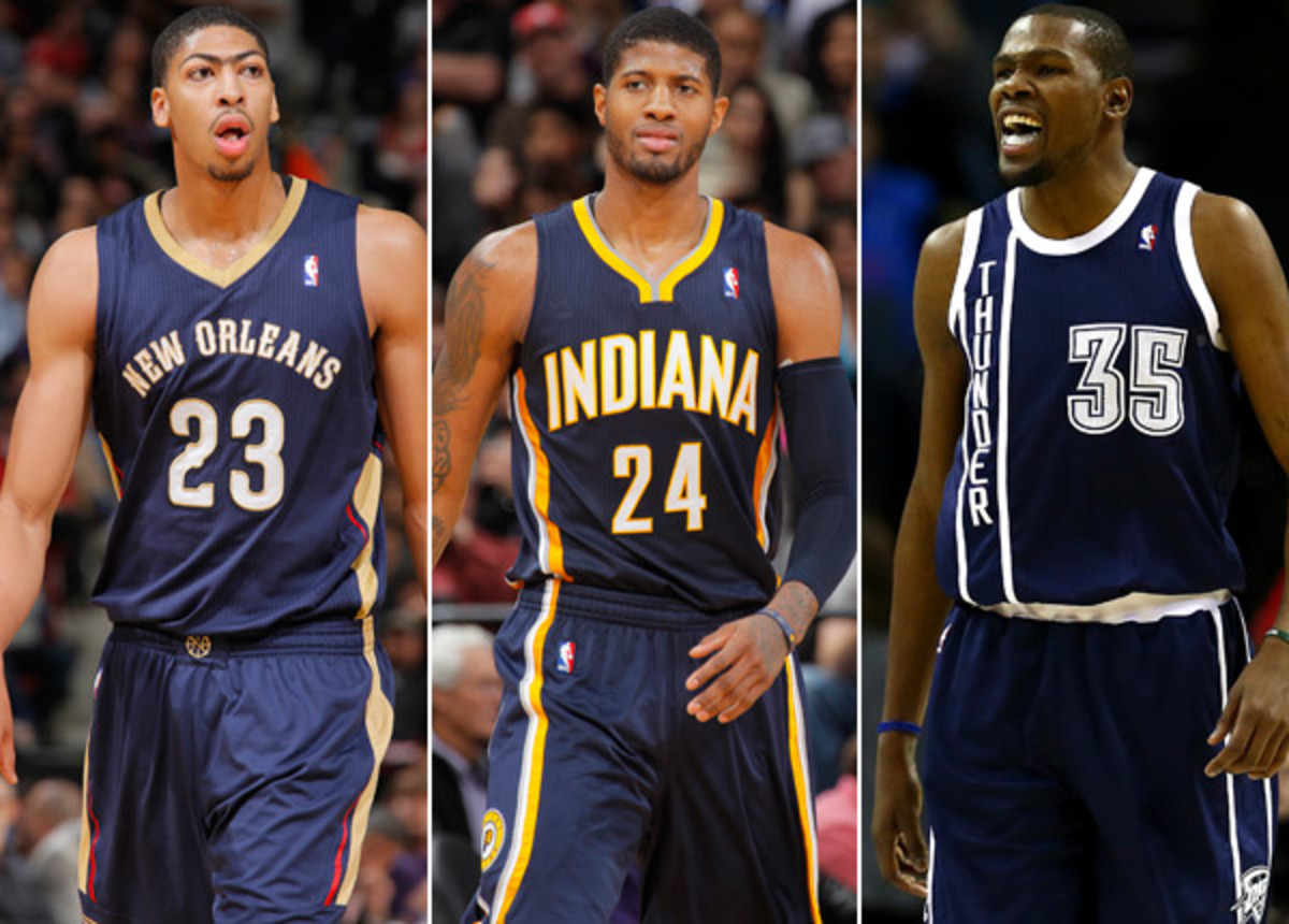 Anthony Davis; Paul George; Kevin Durant