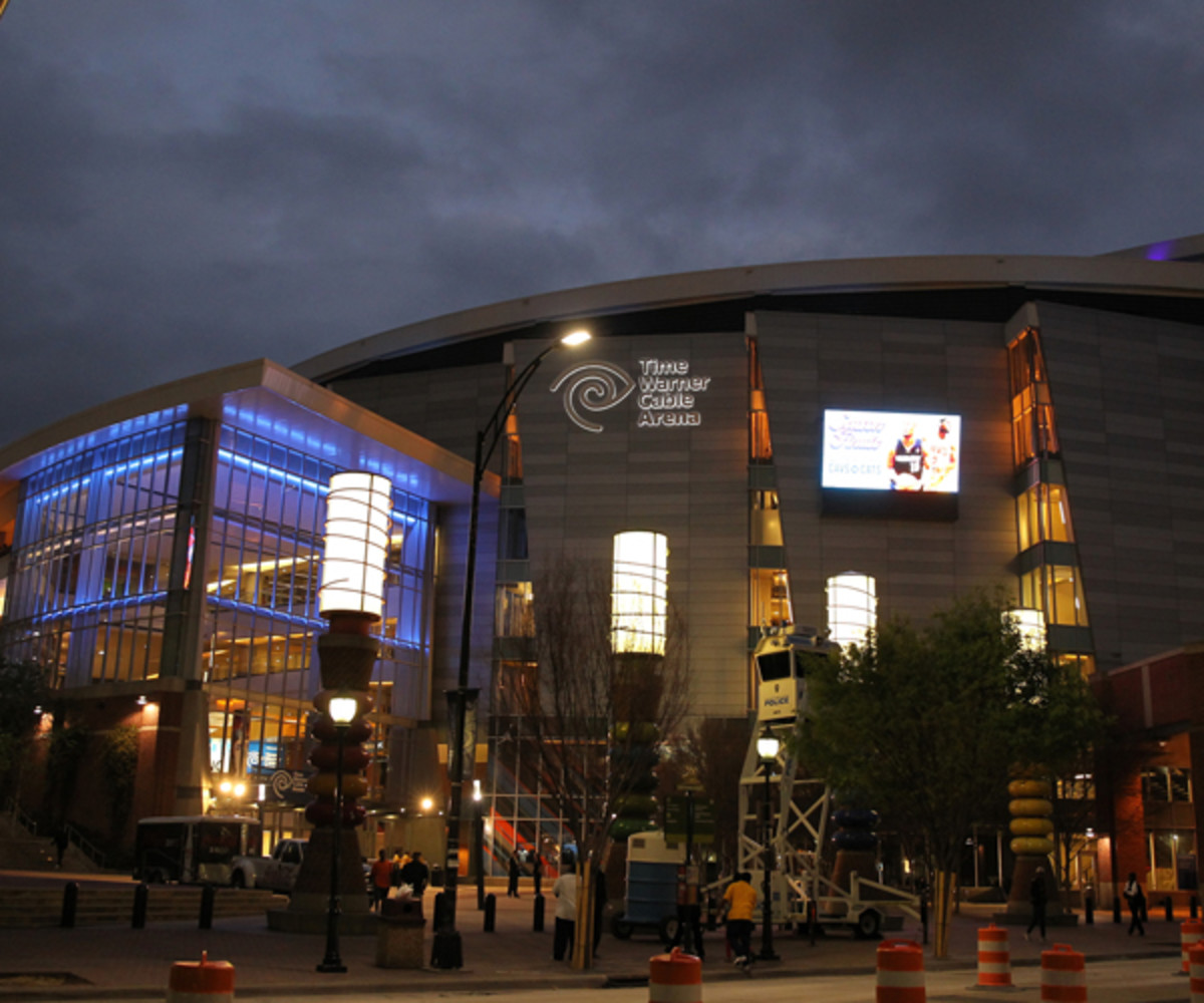 Time Warner Cable Arena (Photo by Kent Smith/NBAE via Getty Images)