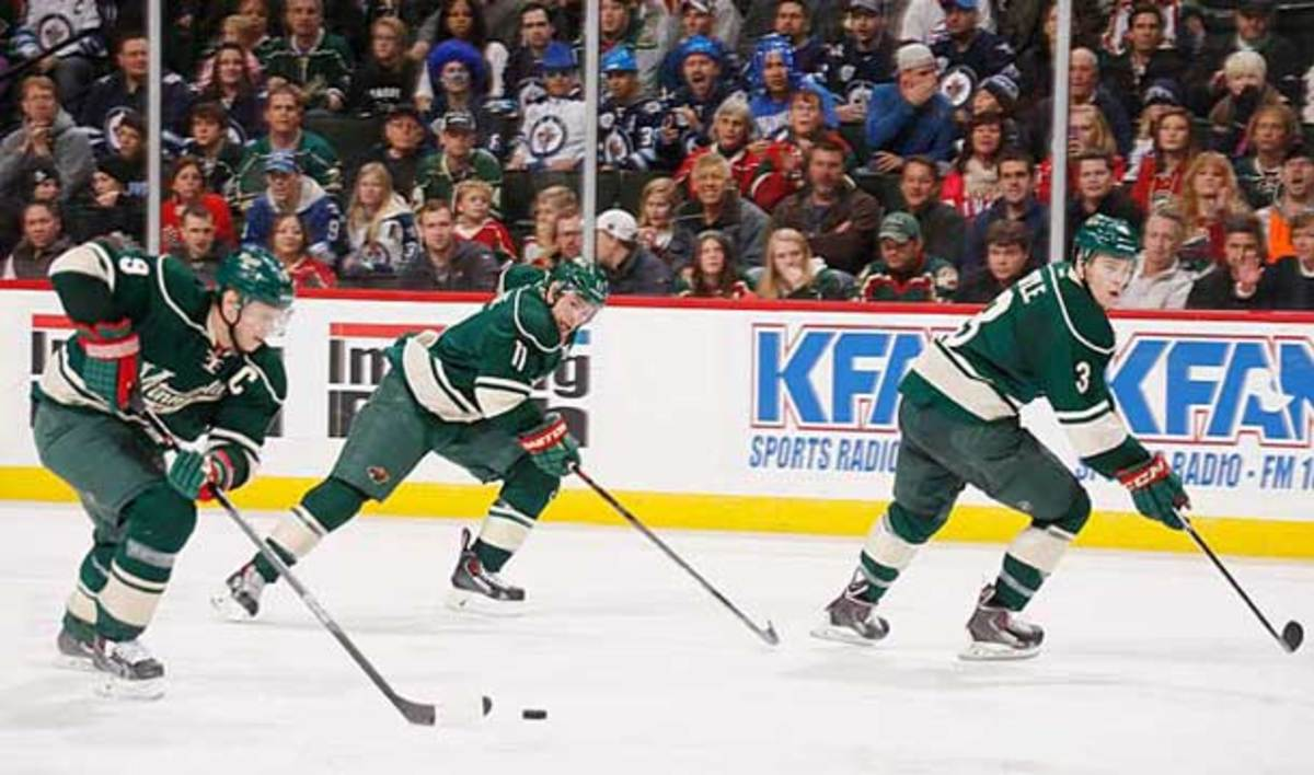 Puck possession fancy stats have led the Minnesota Wild to change their style of offense.