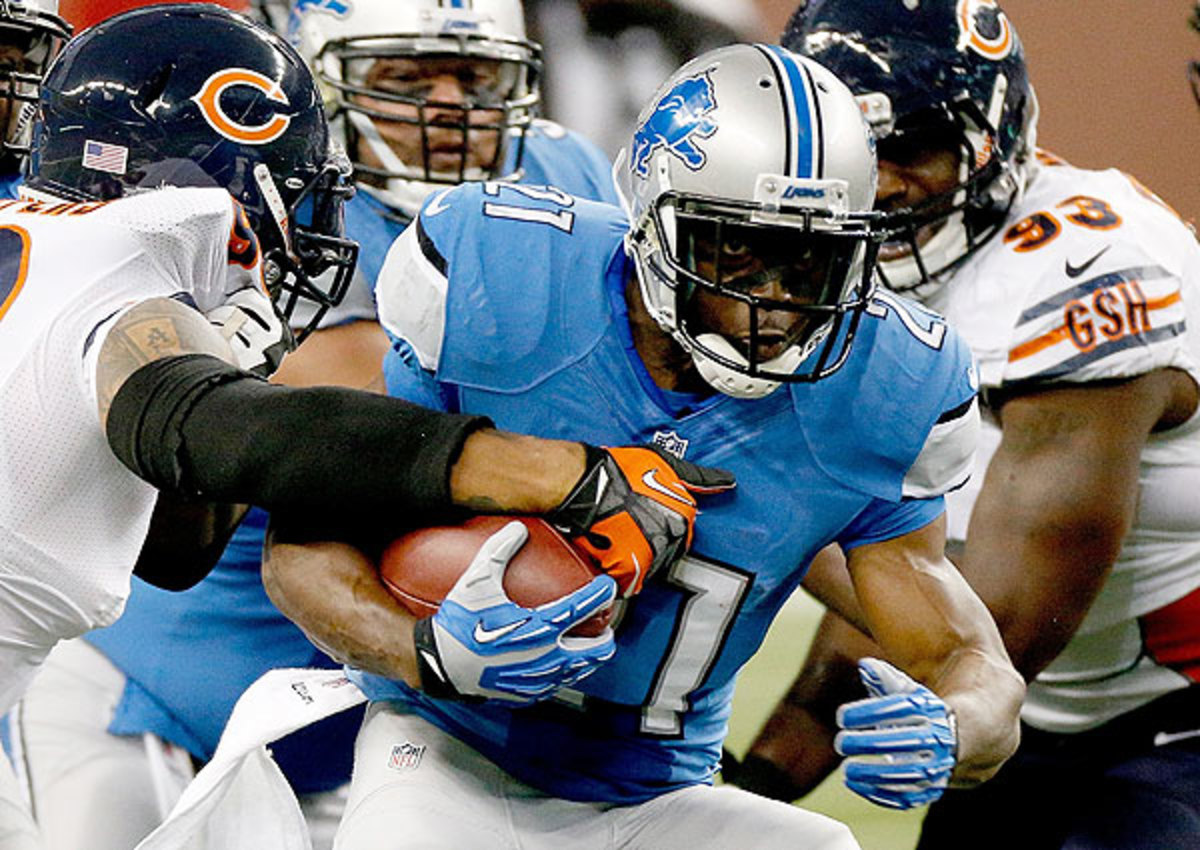 Reggie Bush has proved to be an explosive weapons out of the Lions' backfield.
