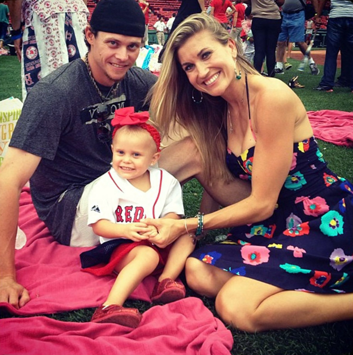 Clay-Buchholz-Lindsay-Clubine-daughter-Colbi.jpg
