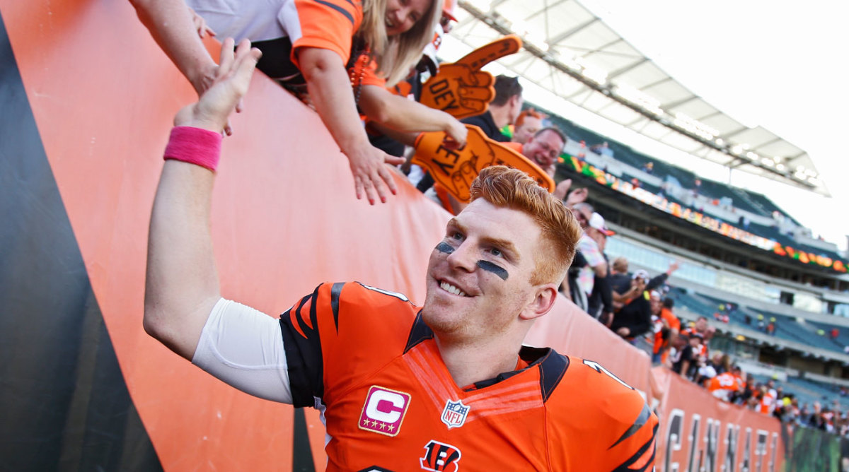 A win over the Chiefs in October lifted Dalton and the Bengals to 4-0; Cincy has been in command of the AFC North all season.