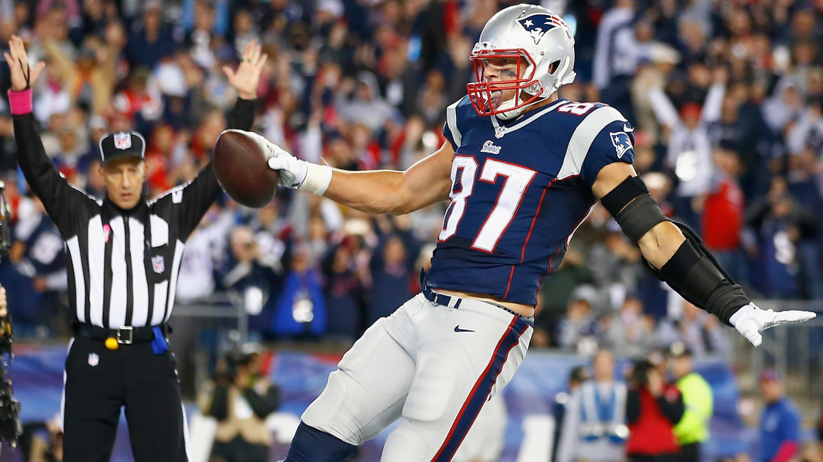 ROB GRONKOWSKI McFarlane Madden NFL 17 Series 1 New England Patriots en Pkg