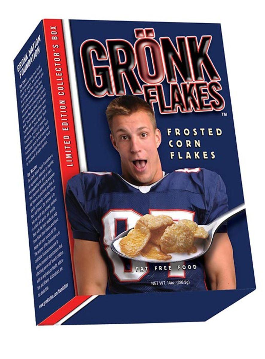 Rob Gronkowski: Gronk Flakes