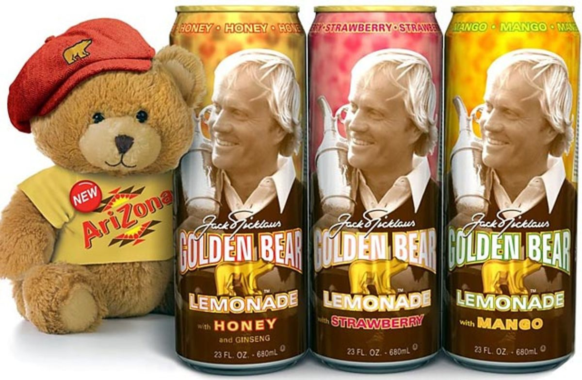 Jack Nicklaus Golden Bear Lemonade