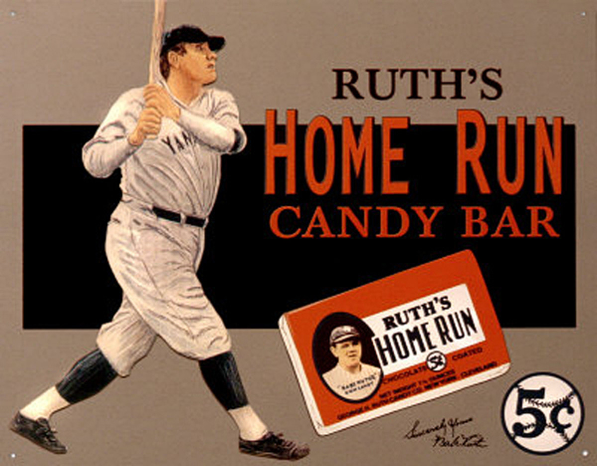 Ruth's Home Run Candy Bar