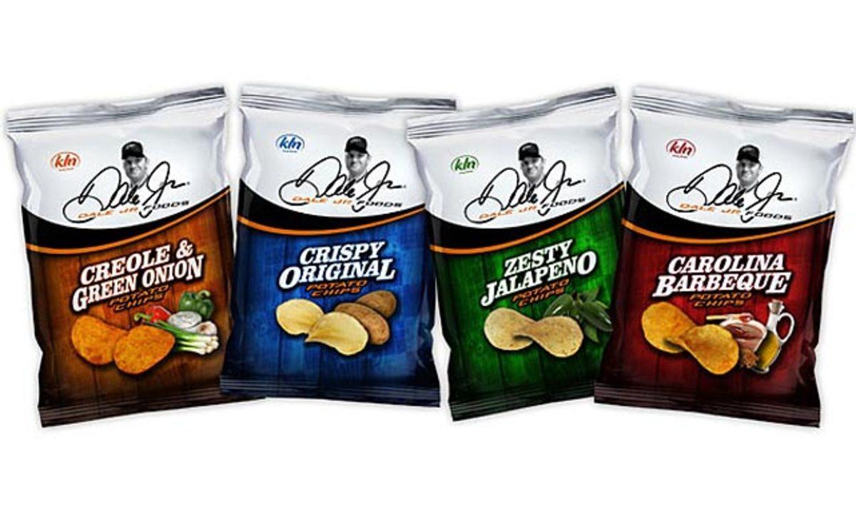 Dale Jr. Potato Chips