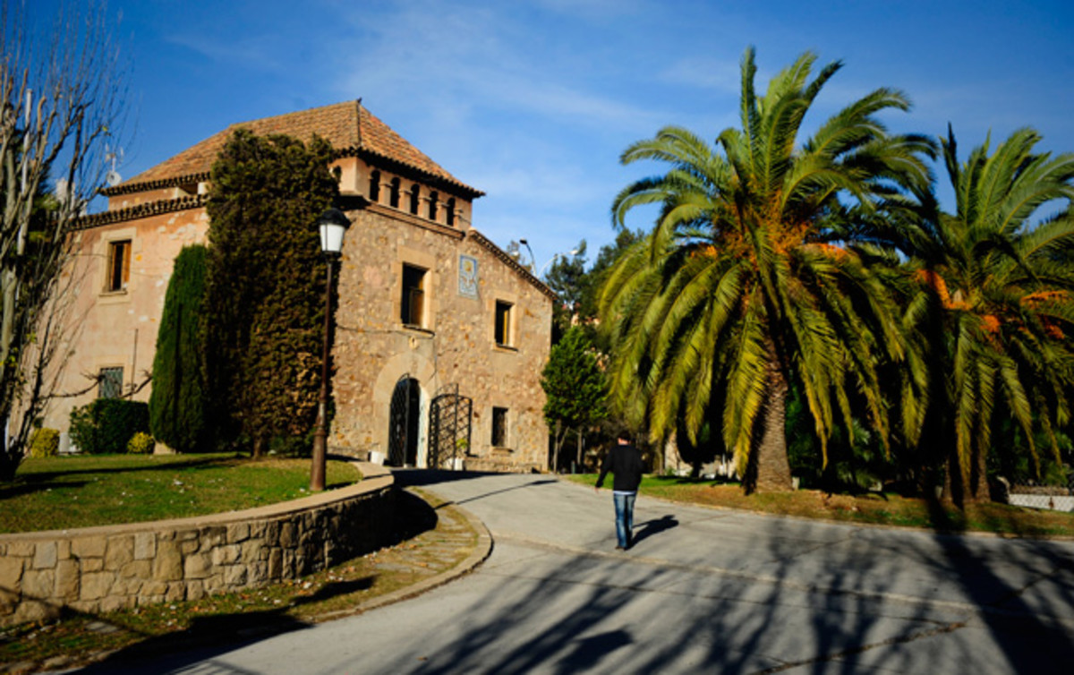 La Masia, FC Barcelona's fabled academy that has produced the likes of Lionel Messi, Andres Iniesta and Xavi.