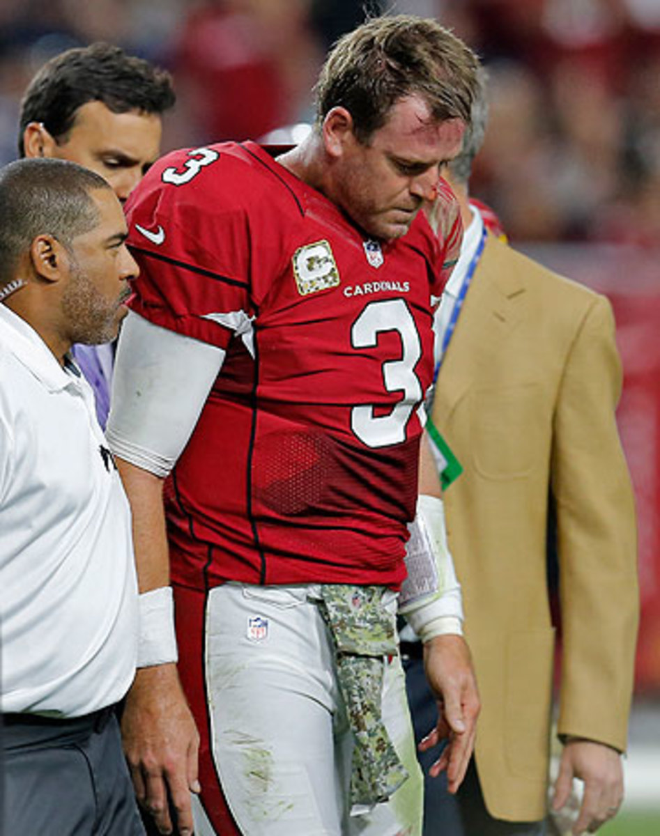 The Cardinals offense never topped 20 points after Carson Palmer tore his ACL in Week 10. (Rick Scuteri/AP)