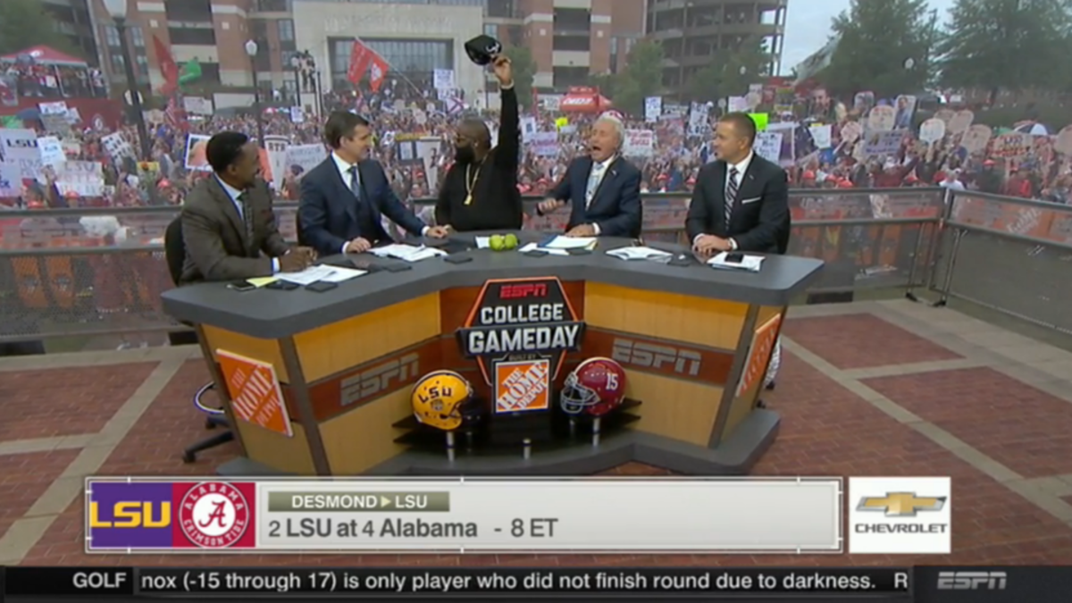 Rick Ross takes time out from beefing with 50 Cent to join GameDay