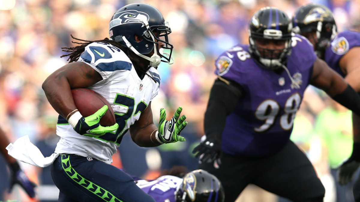 Seattle Seahawks release RB DuJuan Harris, sign RB Bryce Brown