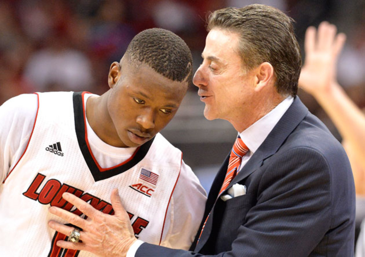Terry Rozier Rick Pitino inline